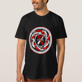 DVT Hope Intertwined Ribbon Tee Shirts