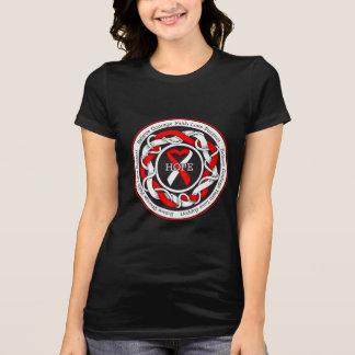 DVT Hope Intertwined Ribbon Tee Shirt