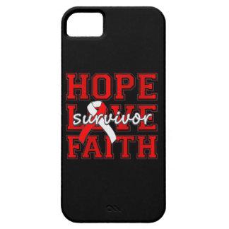 DVT Hope Love Faith Survivor iPhone 5 Covers
