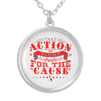 DVT Take Action Fight For The Cause Pendant