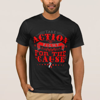 DVT Take Action Fight For The Cause T-Shirt