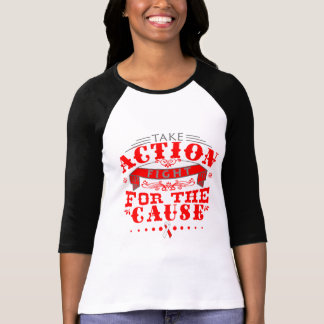 DVT Take Action Fight For The Cause T-shirts