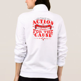 DVT Take Action Fight For The Cause Jackets