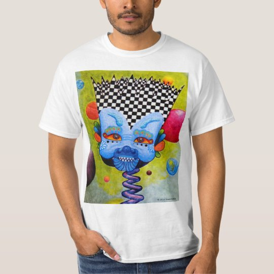 "Dwainizms Colourful ""Blue Man"" Men's Value T-Shirt"