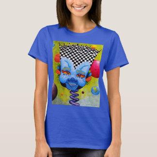 "Dwainizms Vivid ""Blue Man"" Women's Dark T-Shirt"