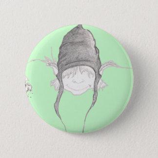 Dwarf 6 Cm Round Badge