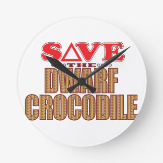 Dwarf Crocodile Save Clock