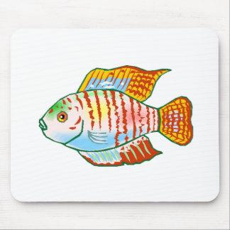 Dwarf Gourami Fish Mouse Pad