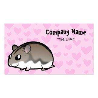 Dwarf Hamster Love Business Card Templates