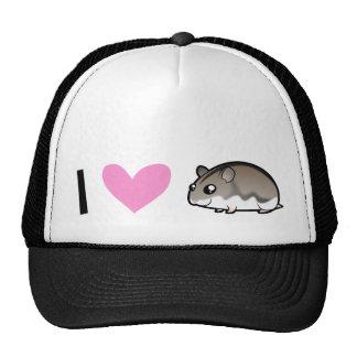 Dwarf Hamster Love Cap