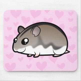 Dwarf Hamster Love Mouse Pad