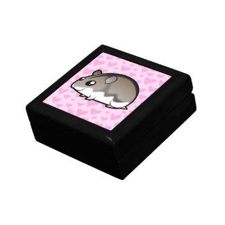 Dwarf Hamster Love Small Square Gift Box