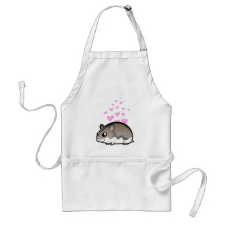 Dwarf Hamster Love Standard Apron