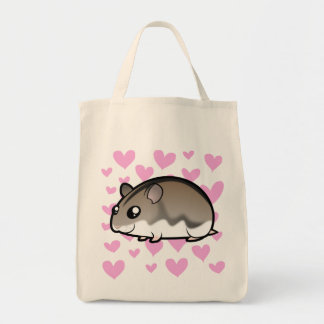 Dwarf Hamster Love Tote Bag