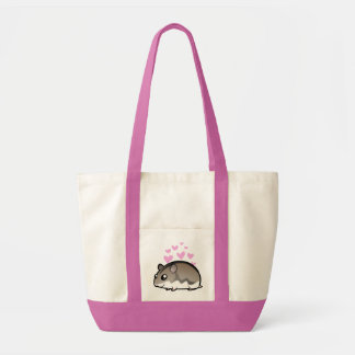 Dwarf Hamster Love Tote Bag