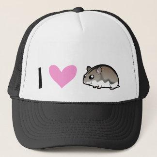 Dwarf Hamster Love Trucker Hat