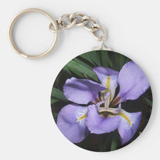 Dwarf Iris Key Ring
