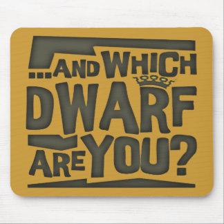 Dwarf Mouse Pad