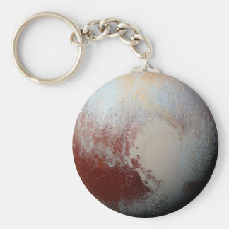 Dwarf Planet Pluto by NASA New Horizons 2015 Photo Key Ring