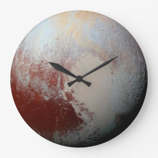 Dwarf Planet Pluto by NASA New Horizons 2015 Photo Large Clock