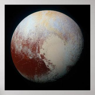 Dwarf Planet Pluto Poster