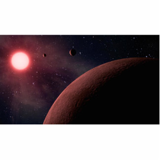 Dwarf Star Alien Planets Space Art Photo Cut Outs