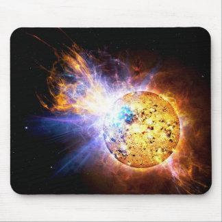 Dwarf star mouse pad