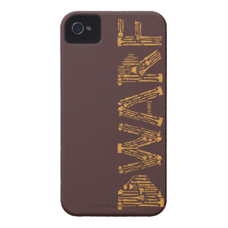 Dwarf Weapons Collage iPhone 4 Case-Mate Case