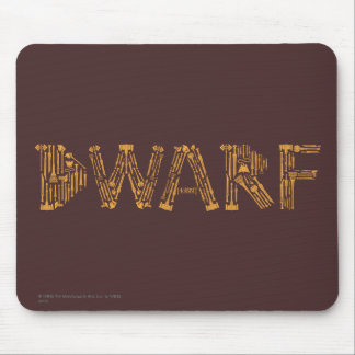 Dwarf Weapons Collage Mouse Mat