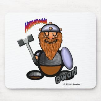 Dwarf (with logos) mouse mat