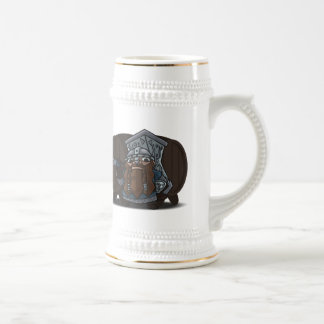 Dwarven Warrior Tankard Beer Stein