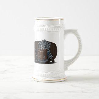 Dwarven Warrior Tankard Mug