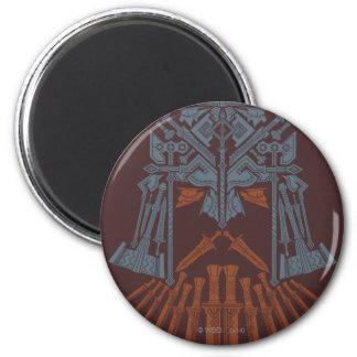 Dwarven Weapons Helmet Icon Magnet