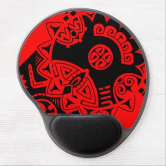 "Dwayne Johnson ""The Rock"" polynesian tribal tattoo Gel Mouse Pad"