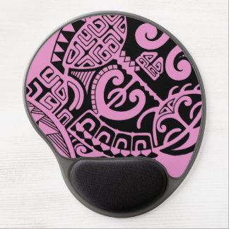 "Dwayne Johnson ""The Rock"" polynesian tribal tattoo Gel Mouse Pad"