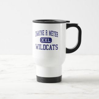 Dwayne R Meyer Wildcats Middle River Falls Stainless Steel Travel Mug