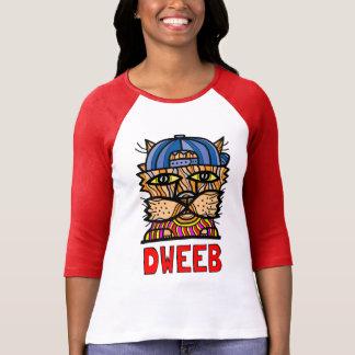 """""""Dweeb"""" Women's 3/4 Sleeve Raglan T-Shirt"""
