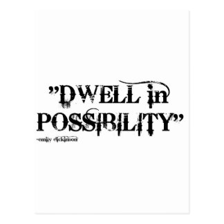 DWELL IN POSSIBILITY POSTCARD