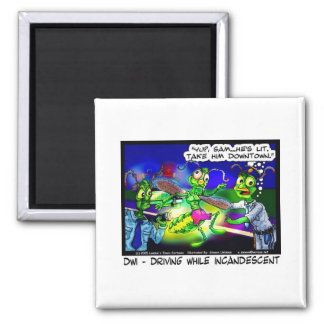 DWI Firefly Funny Gifts Tees & Collectibles Square Magnet