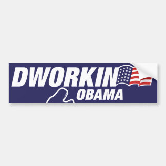 Dworkin 2012 GYNOCRATIC TAKEOVER Car Bumper Sticker