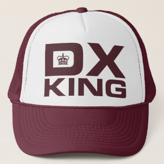 DX King - Maroon Trucker Hat