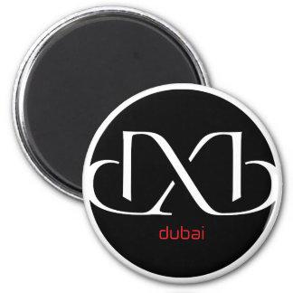 DXB Dubai 6 Cm Round Magnet
