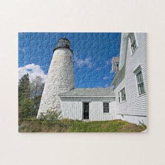 Dyce Head Lighthouse, Maine Jigsaw Puzzle