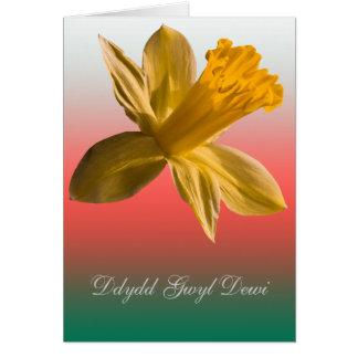 Dydd Gwyl Dewi Sant card_vertical Greeting Card