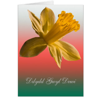 Dydd Gwyl Dewi Sant card_vertical Greeting Card