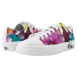 Dyed Daisies Low Tops