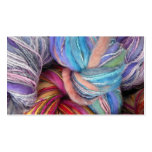 Dyed Knitting Yarn Business Card Template