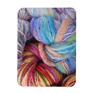 Dyed Knitting Yarn Flexible Magnet