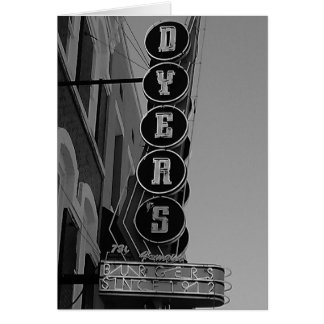 Dyers Memphis Tennessee Greeting Card