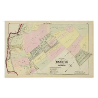 Dyerville Manufacturing Co Atlas Map Poster